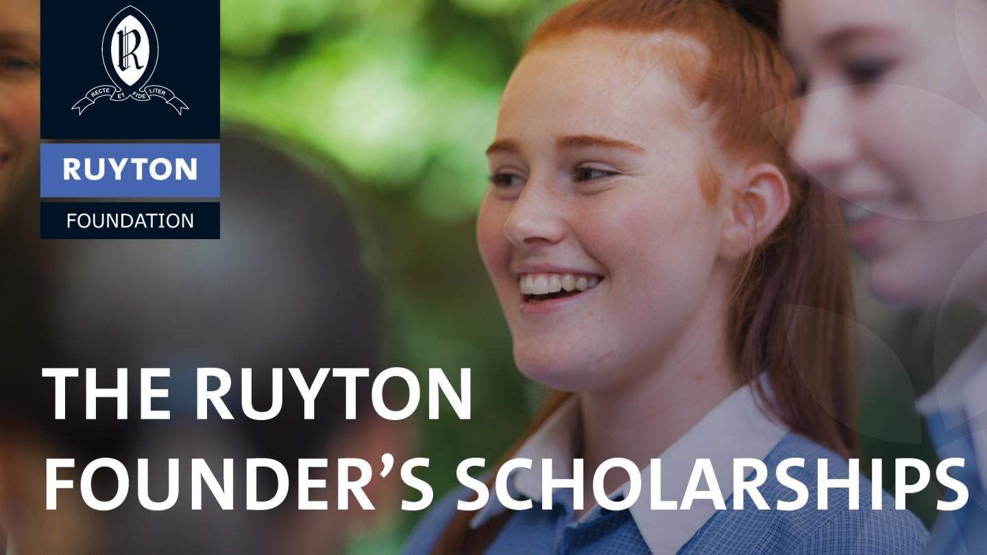 The Ruyton Founder's Scholarship