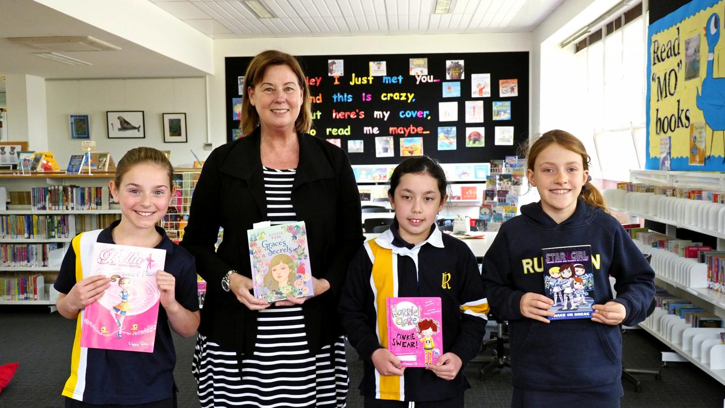Accomplished Author Visits Year 3 and 4