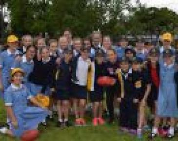 AFL Womens' League Player Visits Ruyton Junior School