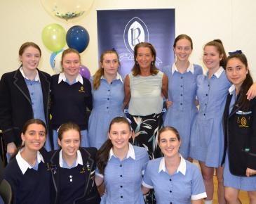 Layne Beachley Visits Ruyton