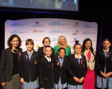 Year 6 Community Service Team Attend the 2018 International Women's Day Breakfast