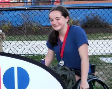Ruyton Student Achieves ITF Ranking of 25th in World for Junior Girls Wheelchair Tennis